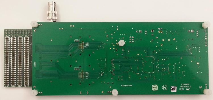 模数转换fpga电路板图