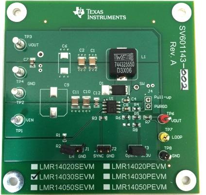 此电路板还具有适用于反馈环路测量的交流信号注入端子.