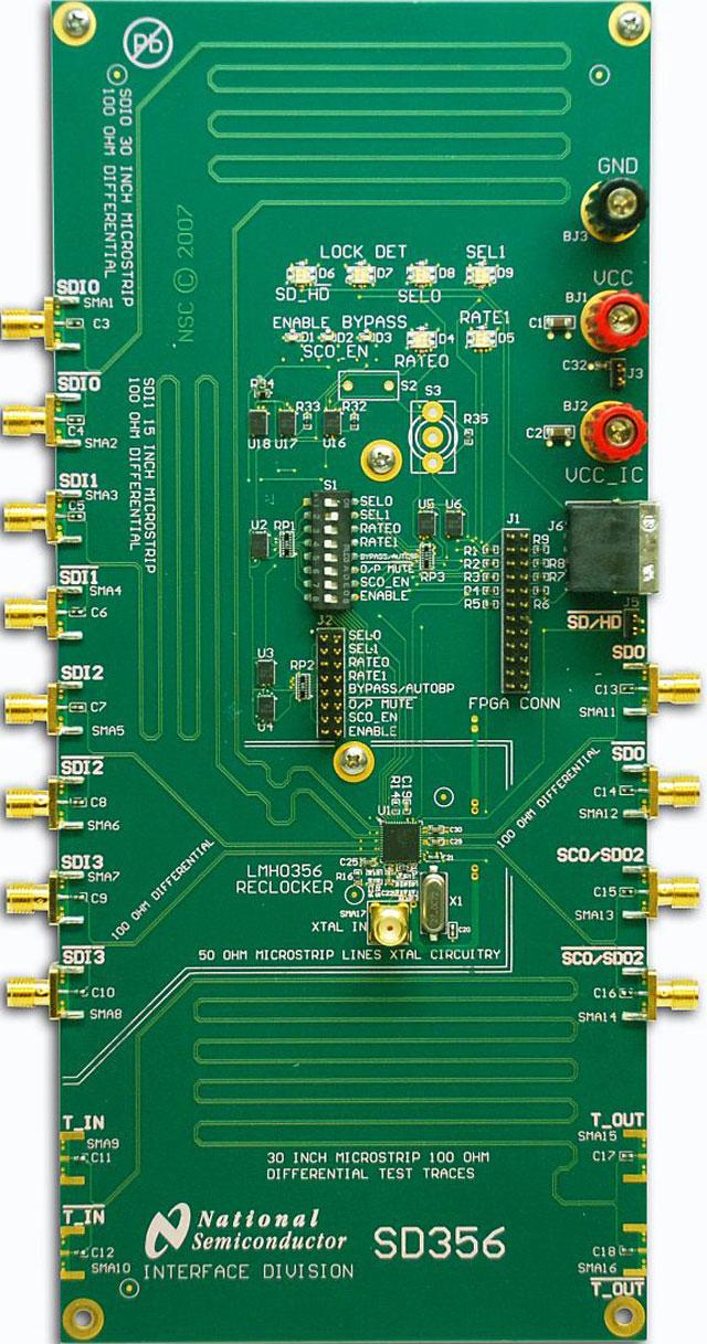 ti 德州仪器 模拟混合信号 接口 视频:广播和专业 串行数字接口 > sd