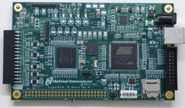 spio-4:传感器 afe 数字控制器电路板